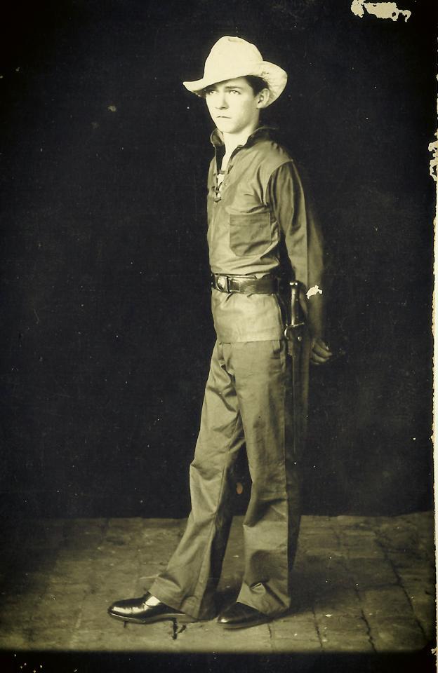 Klaus Werner Rexerodt. Fotografía: archivo de Nedia Helma.