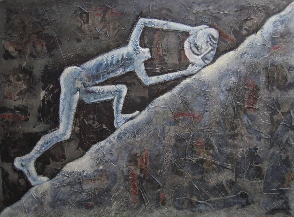Sísifo, del artista plático Ernesto Blanco. Imagen: artelista.com.