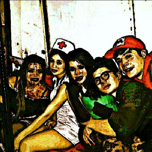 Chica con un cuchillo incrustado en la cabeza, Enfermera, Mary (la golfa), Pa'i Lugo y Mario Bros.