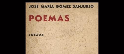 Portada (parte superior) del libro Poemas, publicado en 1978 en Buenos Aires, Argentina.