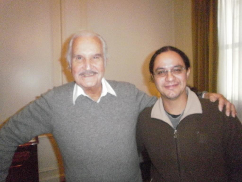 Carlos Fuentes y Blas Brítez.