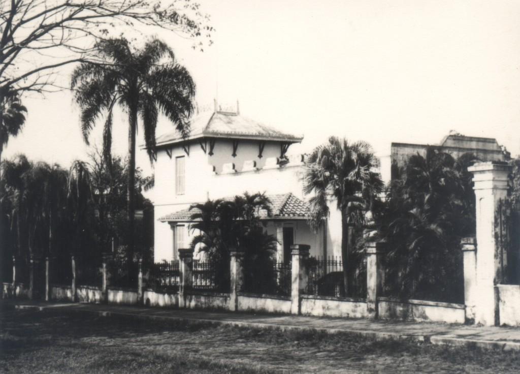 Casa la La babosa, novela de Gabriel Casaccia publicada en 1952. Fotografía: Miguel Ángel Fernández.
