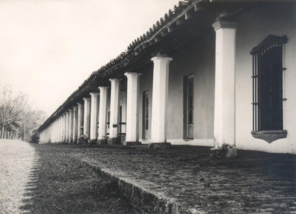 Galería de la loma, junto a la iglesia de Areguá. Fotografía: Miguel Ángel Fernández.