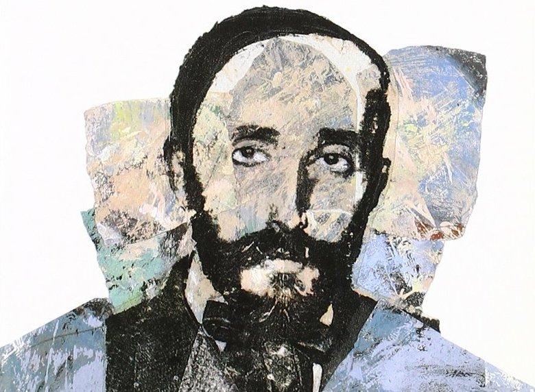Rafael Barrett. Imagen: ilustración de tapa del libro El pensamiento cautivo de Rafael Barrett, de Francisco Corral.