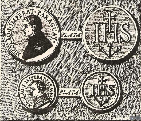 En la breve novela se  habla de las monedas acuñadas por Nicolás I. «Éstas debieron haber sido acuñadas por orden de Fray Jaime Mañalich», dicen los traductores al castellano y editores Arturo Nagy y Francisco Pérez—Maricévich.