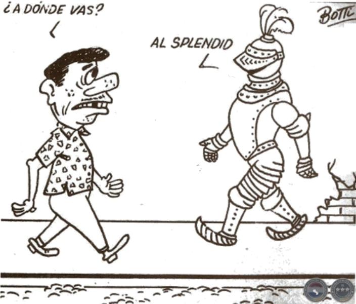 Humor tras el crimen en el Cine Splendid, por Fiorelo Botti.