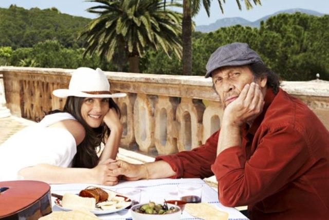 Paco de Lucía y su hija Casilda Sánchez Varela. Fotografía: ToniBernad.