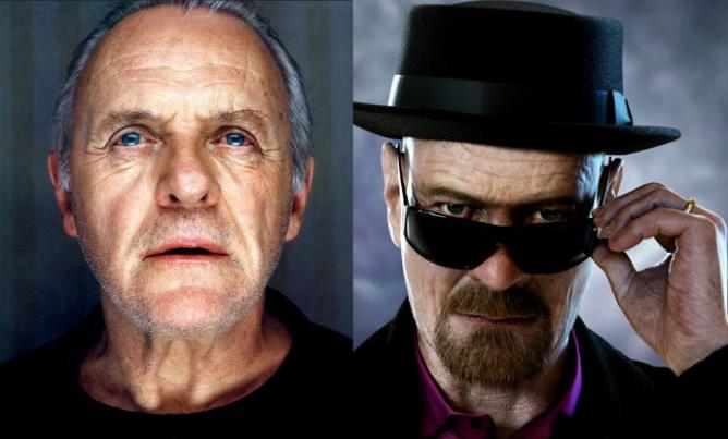 Anthony Hopkins y Bryan Cranston.