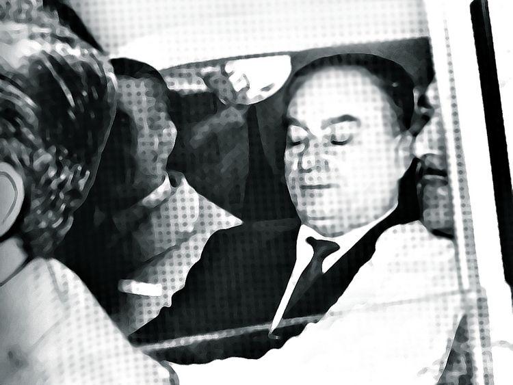 Waldemar Sánchez, tras su secuestro en 1970.