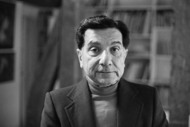 Augusto Roa Bastos en 1977. Fotografía: Sophie Bassouls / Sygma / Corbis.