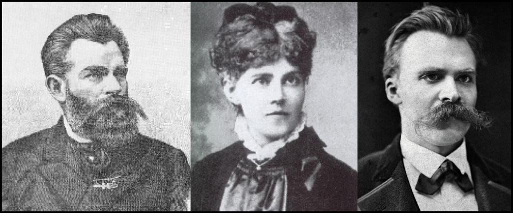 Bernhard Förster, Elisabeth Förster—Nietzsche y Friedrich Nietzsche.