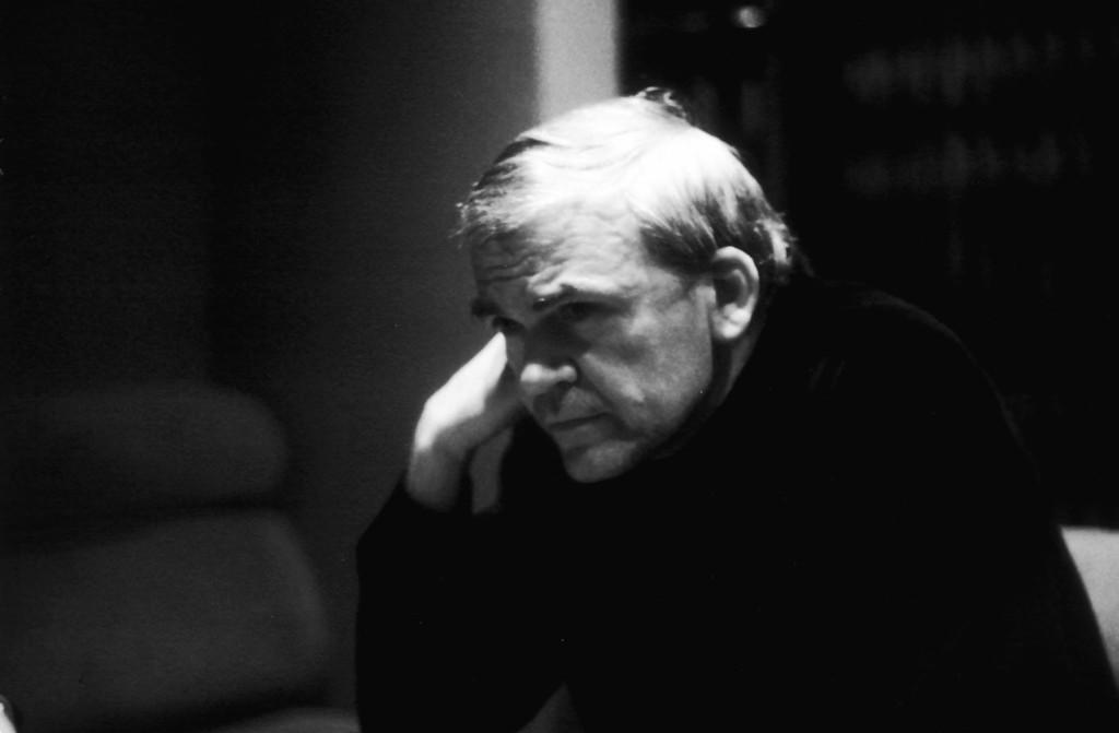 Milan Kundera.