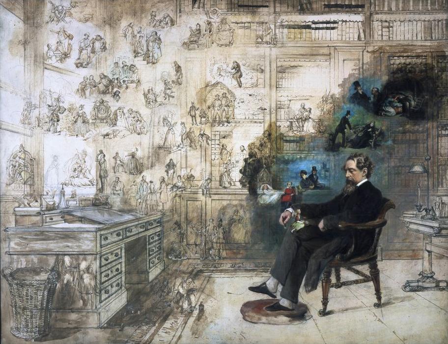 Dickens y sus fantasmas.