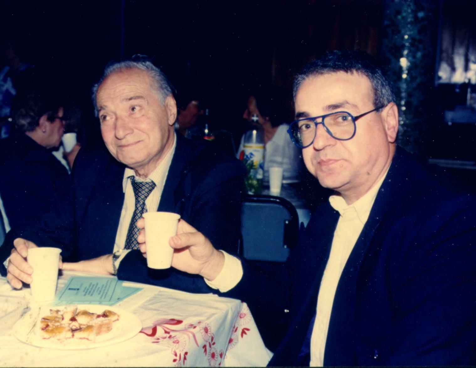 Elvio Romero y Ricardo Rubio.