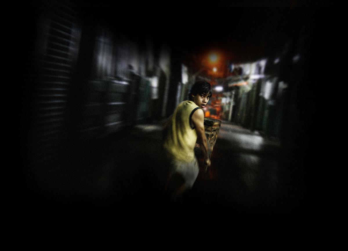 """«El mensaje que se me quedó de la película es: """"si querés ser famoso, no importa que tengas que cargar con un muerto"""", sin ser una postura crítica ante este hecho, sino una reafirmación.» Imagen: 7cajas.com."""