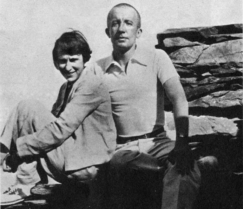 Gala y Paul Eluard.