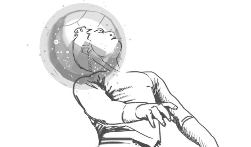 Cuando me entierren no se olviden de mi balón