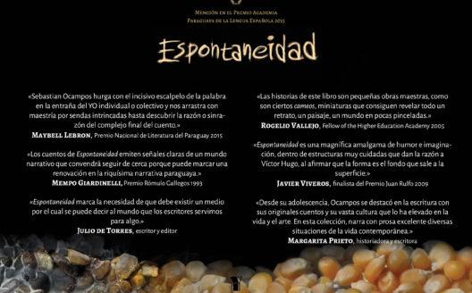 Sebastian Ocampos en el Club Paraguayo y la Feria del Libro de Buenos Aires