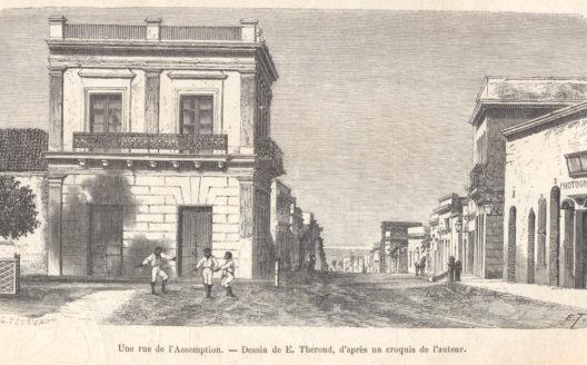 Primeros días en el Paraguay de 1872